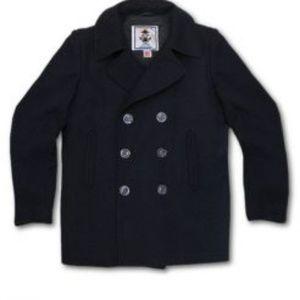 Sterlingwear of Boston Peacoat in Navy